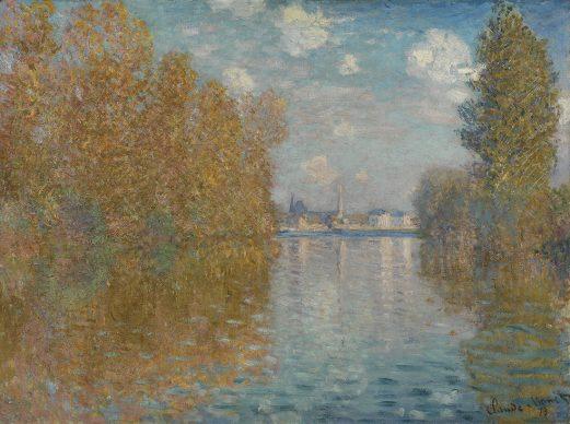 Claude Monet, Autumn Effect at Argenteuil, 1873 © The Samuel Courtauld Trust, The Courtauld Gallery, London