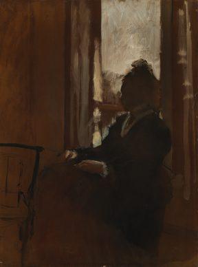 Hilaire-Germain-Edgar Degas, Woman at a Window, 1871-72 © The Samuel Courtauld Trust, The Courtauld Gallery, London