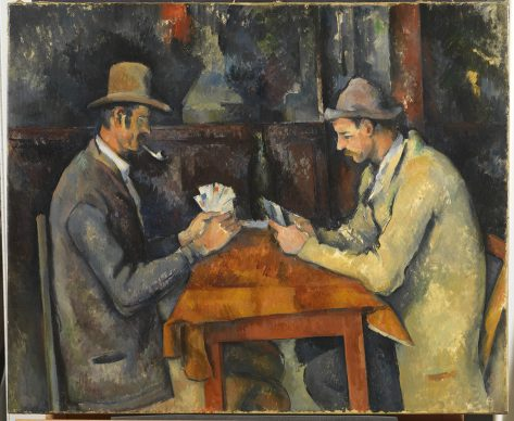 Paul Cézanne, The Card Players, about 1892-96 © The Samuel Courtauld Trust, The Courtauld Gallery, London