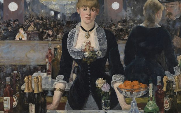 Edouard Manet A Bar at the Folies-Bergère, 1882 Oil on canvas 96 × 130 cm © The Samuel Courtauld Trust, The Courtauld Gallery, London