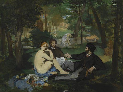 Edouard Manet, Déjeuner sur l'herbe, about 1863-8 © The Samuel Courtauld Trust, The Courtauld Gallery, London