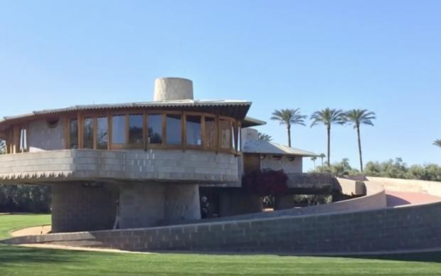 Frank Lloyd Wright, David and Gladys Wright House, Phoenix