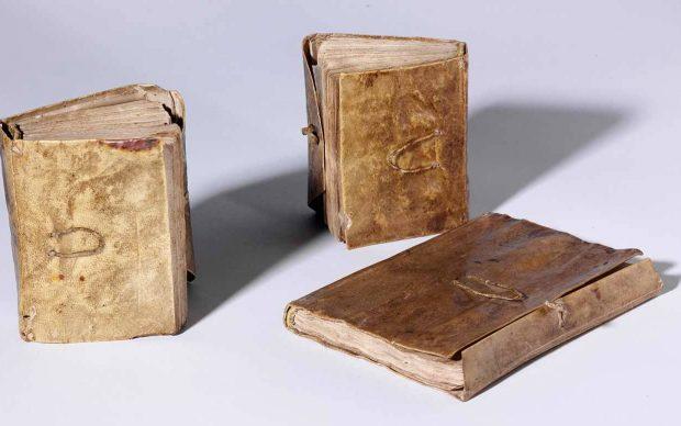 Leonardo da Vinci, Codex Forster, 3 volumi © Victoria and Albert Museum, London