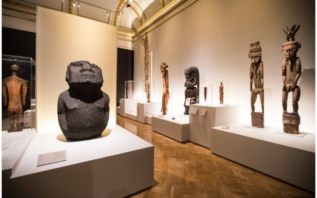 Oceania, installation view, Royal Academy of Arts. Photo by David Parry