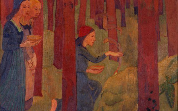 Paul Sérusier, L'Incantation, 1891-92 , Quimper, Musée des Beaux-Arts
