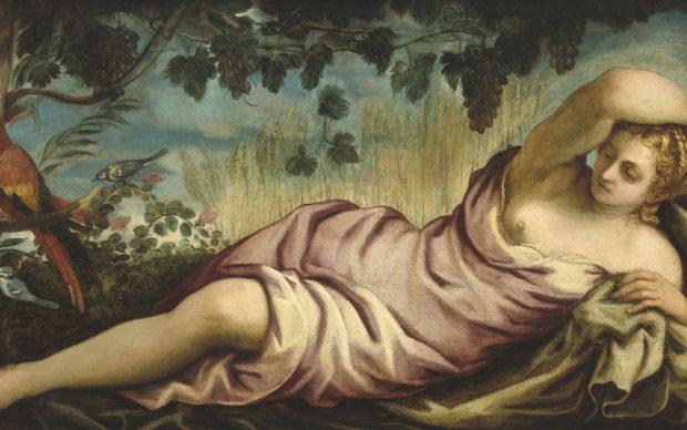 Jacopo Tintoretto, Summer, Italian, 1518 - 1594, c. 1555, oil on canvas, Samuel H. Kress Collection