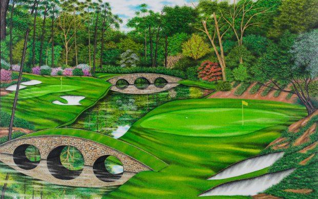 Valentino Dixon pittura campi da golf innocenza omicidio prigione