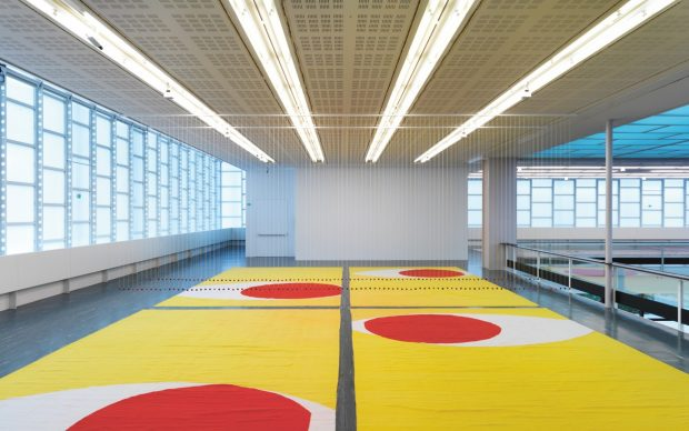 Polly Apfelbaum, Face (Geometry)( Naked) Eyes, 2016 © Belvedere, Vienna, 2018 / Photo: Sandro Zanzinger. Courtesy the artist & Galerie nächst St. Stephan Rosemarie Schwarzwälder, Vienna