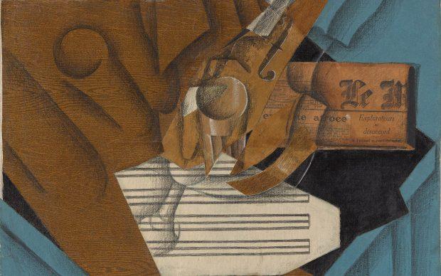 Juan Gris. The Musician's Table, 1914. The Metropolitan Museum of Art, New York, Leonard A. Lauder Cubist Collection, Purchase, Leonard A. Lauder Gift, 2018.