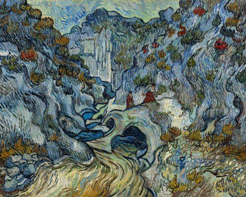 Vincent van Gogh, The ravine (Les Peiroulets), 1889. Coll. Kröller-Müller Museum, Otterlo