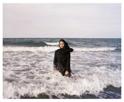 IRAN. Mahmoudabad. Caspian Sea. 2011.  Imaginary CD cover for Sahar. © Newsha Tavakolian / Magnum Photos