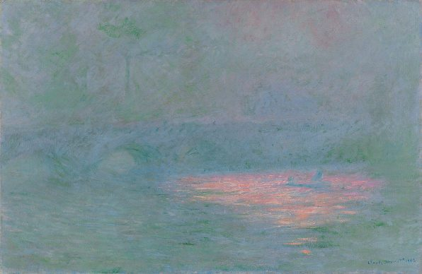 Claude Monet, Waterloo Bridge, 1902, Kunsthaus Zürich, Geschenk Walter Haefner, 1995