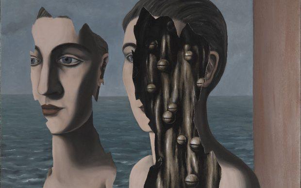 René Magritte, Le double secret, 1927, Collection Centre Pompidou, Paris