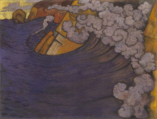 Georges Lacombe, Die violette Woge, 1896/97, The George Economou Collection © Odysseas Vaharides / Courtesy The George Economou Collection
