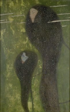 Gustav Klimt, Nixen – Silberfische, um 1902/03, Bank Austria Kunstsammlung, Wien