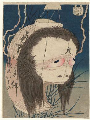 Kasushika Hokusai, 100 Erzählungen: Frau Oiwa, um 1830, MAK – Österreichisches Museum für angewandte Kunst/Gegenwartskunst, Wien © MAK/Georg Mayer