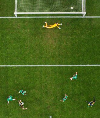Nils Petter Nilsson, Derby Goal, 2018 © Nils Petter Nilsson-Ombrello- Getty Images