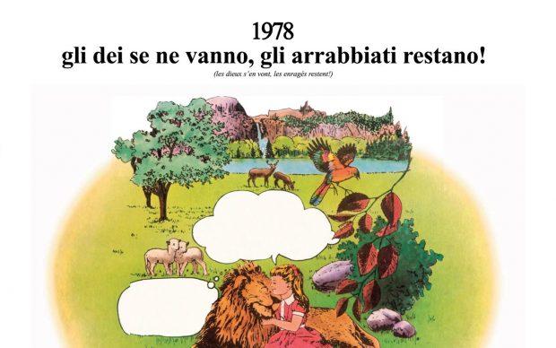 AREA 1978 Gli Dei Se Ne Vanno Gli Arrabbiati Restano