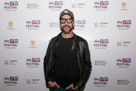 Antonio Monti, Sky Arte Festival Palermo, ottobre 2018