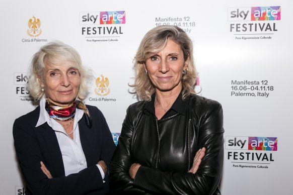 Elena e Michela Martignoni, Sky Arte Festival Palermo, ottobre 2018