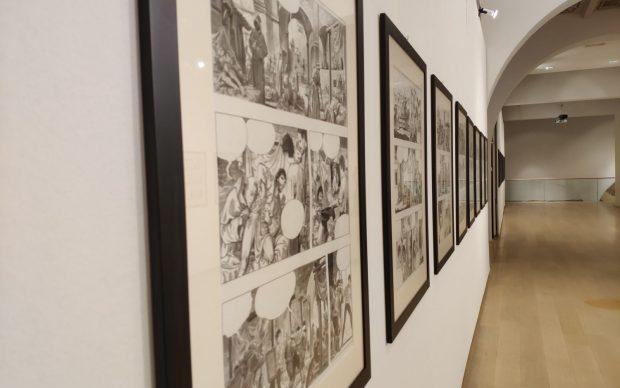 Milo Manara Caravaggio a fumetti secondo volume 2019