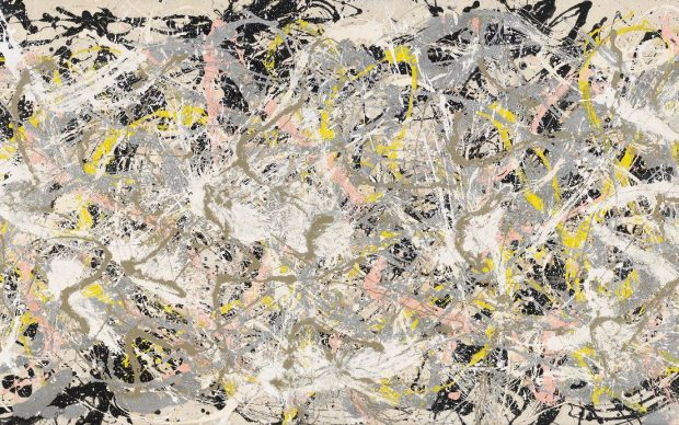 Jackson Pollock (1912-1956)Number 27, 1950, 1950 Oil, enamel, and aluminum paint on canvas, 124,6x269,4 cm Whitney Museum of American Art, New York; purchase 53.12 © Pollock-Krasner Foundation Artists Rights Society (ARS), New York by SIAE 2018