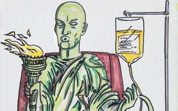 Jim Carrey disegni satira politica