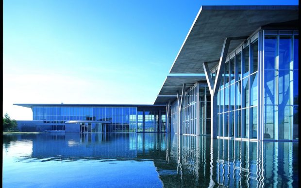Tadao Ando, Musée d'art moderne de Fort Worth 2002. Photo Mitsuo Matsuoka