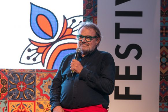 Oliviero Toscani, Sky Arte Festival Palermo, ottobre 2018