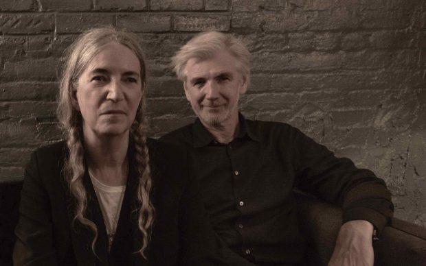 Patty Smith e Tony Shanahan, credit Steven Sebring