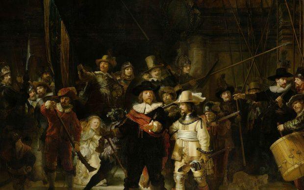 Rembrandt Ronda di Notte Amsterdam
