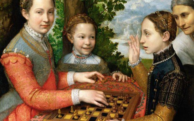 Sofonisba Anguissola, Partita a scacchi, 1555
