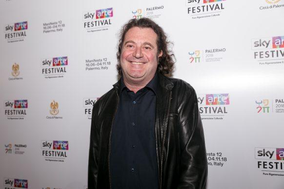 Stefano Senardi, Sky Arte Festival Palermo, ottobre 2018