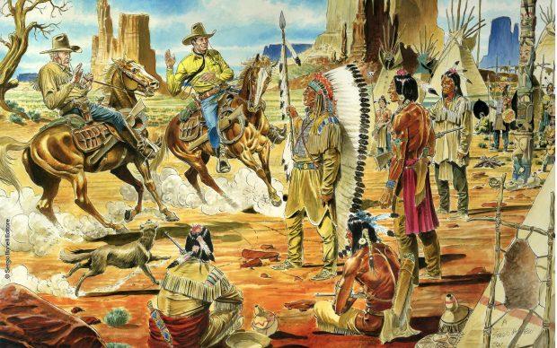 Tex Sergio Bonelli fumetto western