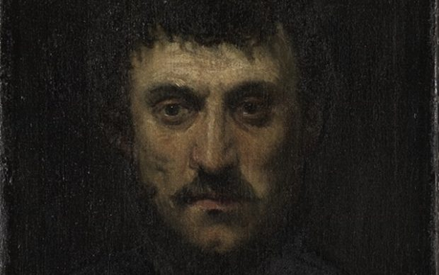 Jacopo Tintoretto. Portrait of a Man (Self Portrait?), 1550s? Oil on canvas, private collection.