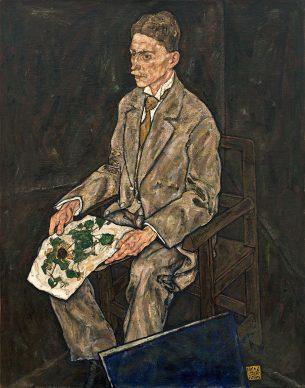 Egon Schiele, Picture of Dr. Franz Martin Haberditzl, 1917. Photo: Johannes Stoll © Belvedere, Vienna