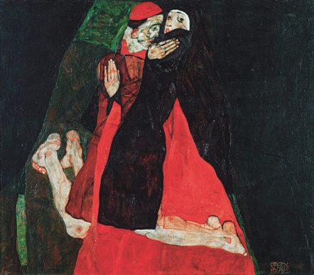 Cardinal and Nun (Caress), 1912 © Leopold Museum, Vienna