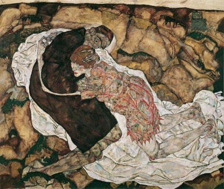 Egon Schiele, Tod und Mädchen, 1915 © Belvedere, Vienna