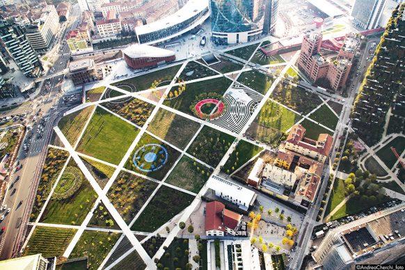 InsideOutside, Biblioteca degli Alberi, Milano © Andrea Cherchi