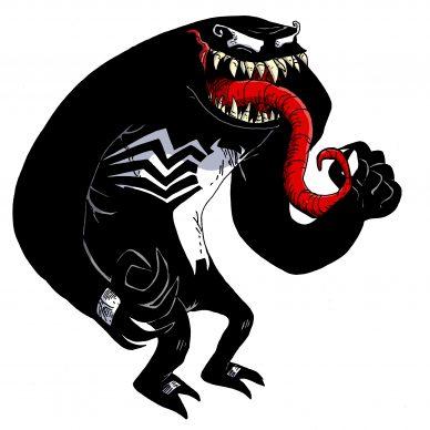 Venom, 2018, Courtesy Zerocalcare