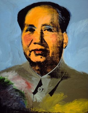 Andy  Warhol,  Mao, 1972. The  Art  Institute  of Chicago; Mr.  and  Mrs. Frank  G. Logan Purchase Prize and  Wilson  L. Mead funds,  1974.230 © The Andy Warhol Foundation for the Visual Arts, Inc. / Artists Rights Society (ARS) New York
