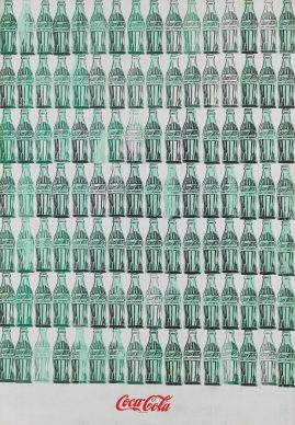 Andy  Warhol, Green Coca-Cola  Bottles, 1962. Whitney Museum  of American Art, New  York; purchase with funds  from  the Friends of the  Whitney Museum of American  Art  68.25 © The Andy Warhol Foundation for the Visual Arts, Inc. / Artists Rights Society (ARS) New York
