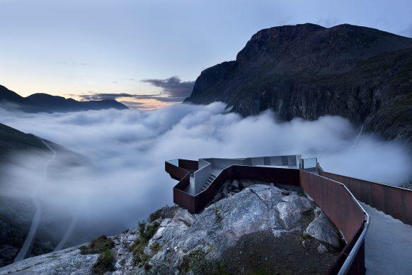 Trollstigen Visitor Center by Reiulf Ramstad Architects. Photo credit: © Ken Schluchtmann -  diephotodesigner.de