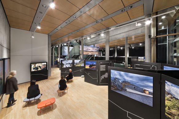 Exhibition view. Making of Video as introduction to the exhibition, 1st floor.  Photo credit: © Ken Schluchtmann -  diephotodesigner.de