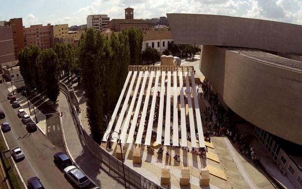 Collettivo Orizzontale, 8 e 1/2, 2014, Roma