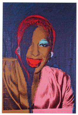 Andy  Warhol, Ladies and Gentlemen (Wilhelmina  Ross), 1975. Fondation Louis  Vuitton, Paris  © The Andy Warhol Foundation for the Visual Arts, Inc. / Artists Rights Society (ARS) New York