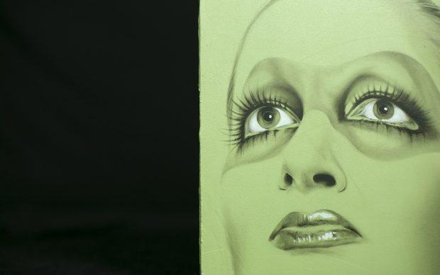 Galleria Magenta_ritratto Mina, installazione_Nicoletta Bagatti_photo Valeria Beltrami (2)