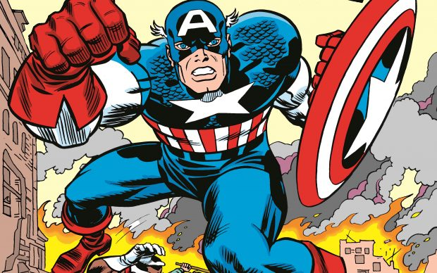 Jack Kirby, Captain America, TM & © Marvel Characters, Inc.