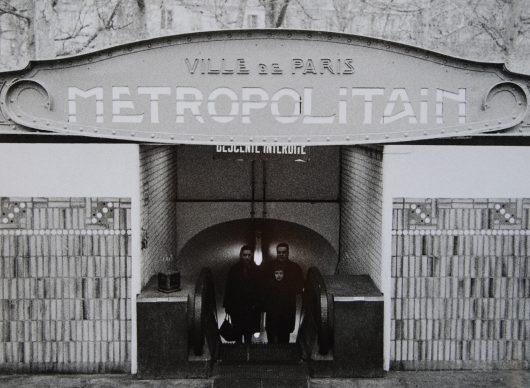 Lisetta Carmi, La Metropolitana, Parigi, 1965 @Lisetta Carmi, courtesy Martini & Ronchetti