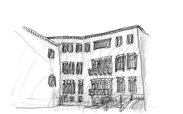 Michele De Lucchi, matita su carta Fondazione Querini Stampalia, Venezia, Intesa Sanpaolo, 2015 –2018